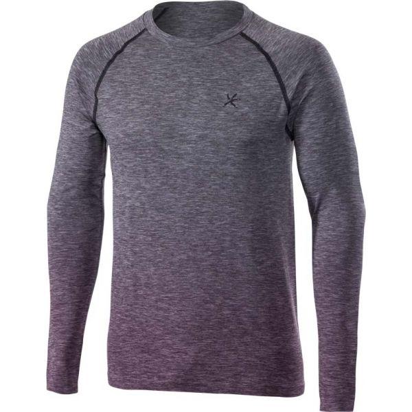Klimatex SAVELI szürke M - Férfi hosszú ujjú outdoor póló