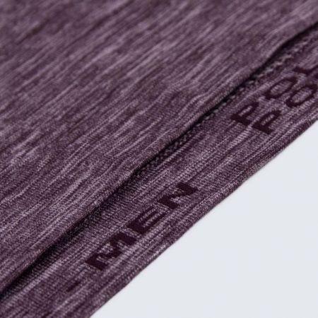 Pánske outdoorové bezšvové tričko s dlhým rukávom - Klimatex SAVELI - 5