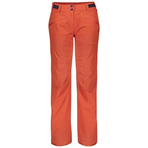 Scott ULTIMATE DRYO 20 W oranžová XL - Dámské zimní kalhoty