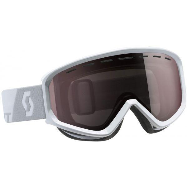 Scott LEVEL bílá  - Lyžařské brýle