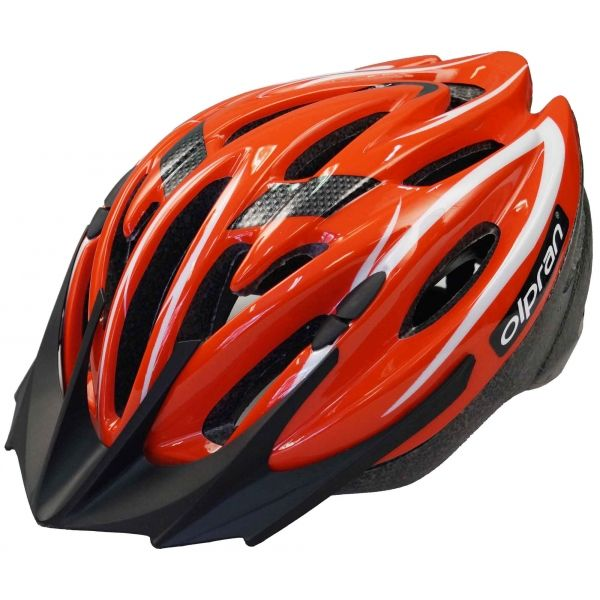 Olpran DISCOVERY piros (57 - 60) - Kerékpáros sisak