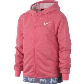 Nike DRY HOODIE FZ STUDIO - Спортен суитшърт за момичета