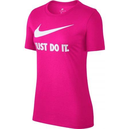 Tricou damă - Nike NSW TEE CREW JDI SWSH HBR - 1