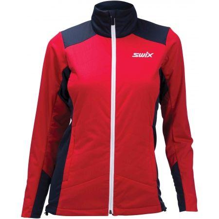 Teplá dámská bunda na běžecké lyžování - Swix POWDERX - 1