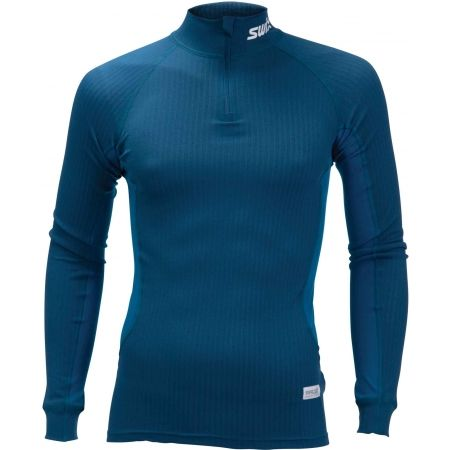 Swix RACEX - Functional long sleeve T-shirt and a collar