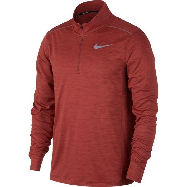 Nike PACER TOP HZ červená XXL - Pánske bežecké tričko