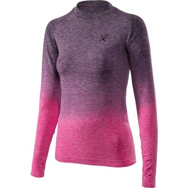 Klimatex ADELIN ružová S - Dámske tričko s dlhým rukávom
