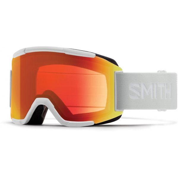 Smith SQUAD +1 biela NS - Lyžiarske okuliare