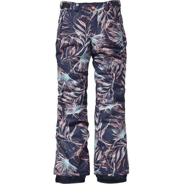 O'Neill PG CHARM SLIM PANTS fialová 152 - Dievčenské snowboardové/lyžiarske nohavice