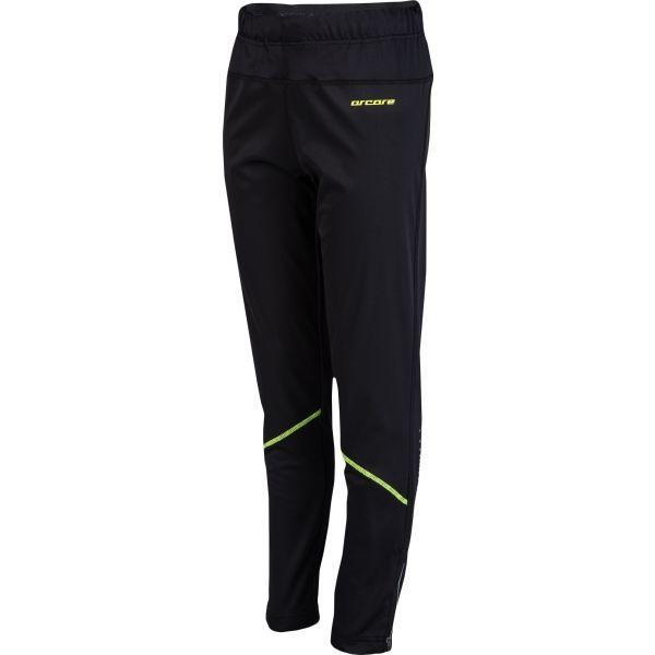 Arcore BALIN zelená 128-134 - Dětské běžecké kalhoty