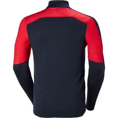 Pánské triko se zipem - Helly Hansen LIFA MERINO 1/2 ZIP - 2