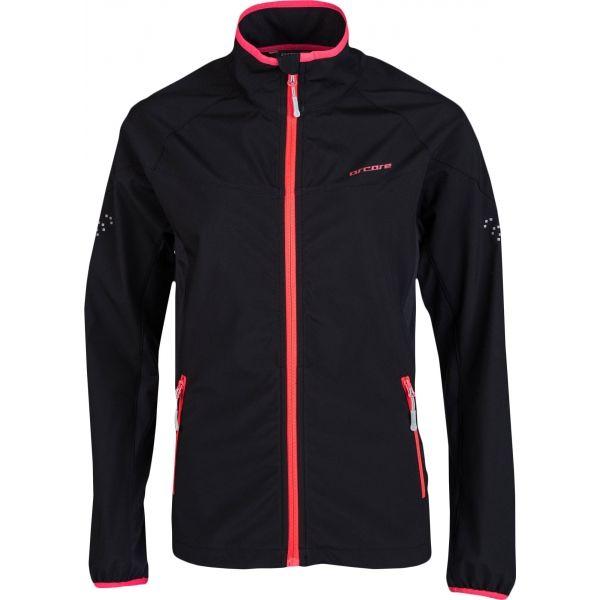 Arcore ELODIE černá L - Dámská běžecká bunda