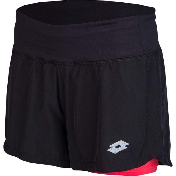 Lotto TRINA černá XL - Dámské sportovní šortky