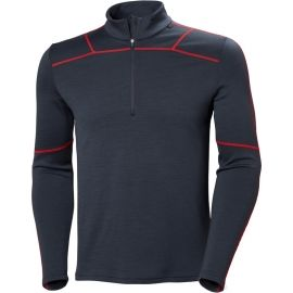 Helly Hansen LIFA MERINO 1/2 ZIP - Men's T-shirt with a zipper