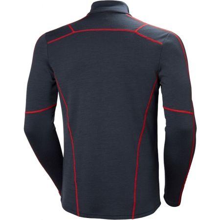 Tricou de bărbați cu fermoar - Helly Hansen LIFA MERINO 1/2 ZIP - 2