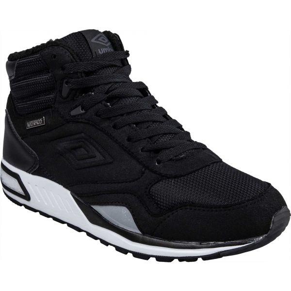 Umbro REDHILL HIGH W PROOF čierna 10 - Pánska voľnočasová obuv