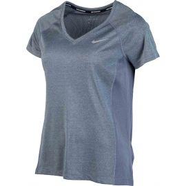 Nike DRY MILER TOP V-NECK W - Top de alergare femei