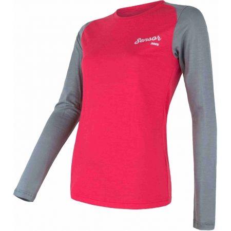 Функционална тениска - Sensor MERINO ACTIVE PT LOGO