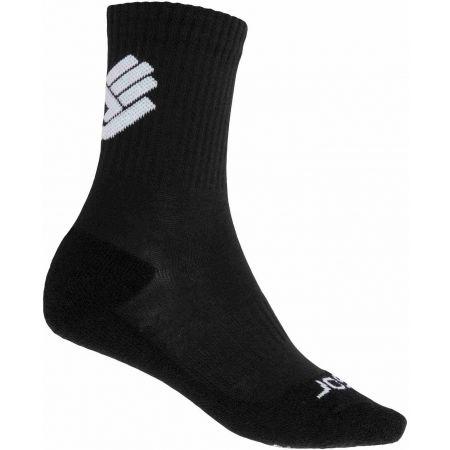 Ponožky - Sensor RACE MERINO BLK