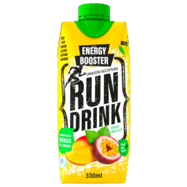 RunDrink MANGO MARACUJA 330 ML - Energy drink