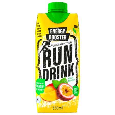 Energetický nápoj - RunDrink MANGO MARACUJA 330 ML