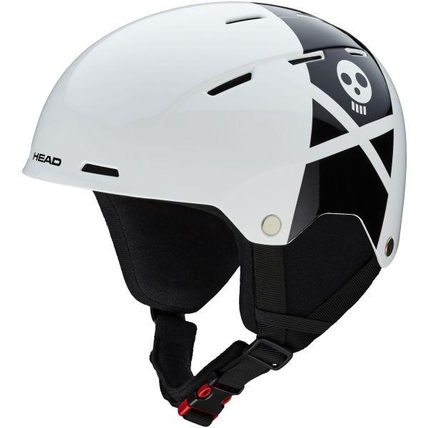 Head TAYLOR REBELS biały (52 - 55) - Kask narciarski juniorski