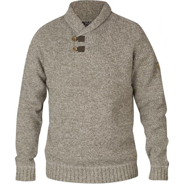 Fjällräven LADA SWEATER šedá XL - Pánský svetr