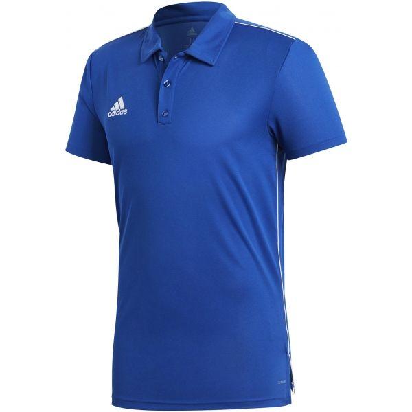 adidas CORE18 POLO modrá XXL - Polo triko