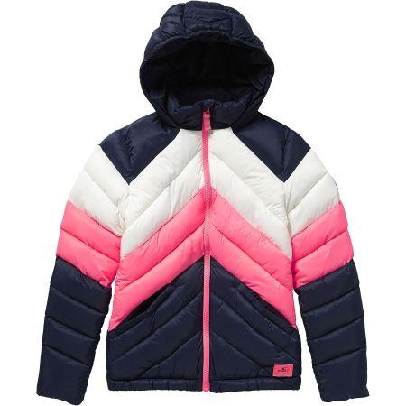 Dívčí zimní bunda - O'Neill LG TRANSIT TOURING JACKET - 1