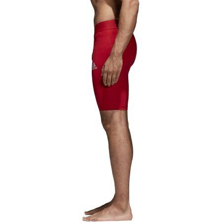 Pánské spodní trenky - adidas ALPHASKIN SPORT SHORT TIGHTS  M - 2