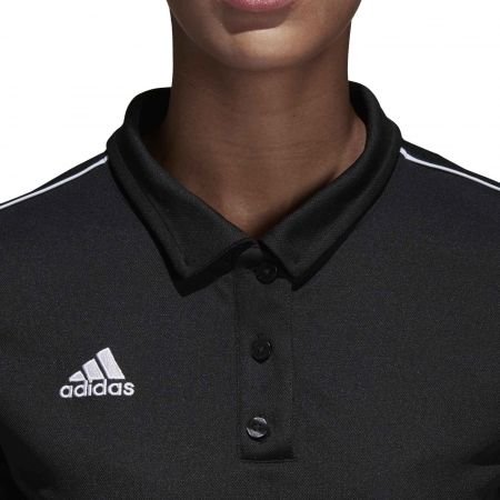 Women's sports polo shirt - adidas CORE18 POLO W - 8