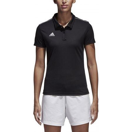 Women's sports polo shirt - adidas CORE18 POLO W - 3