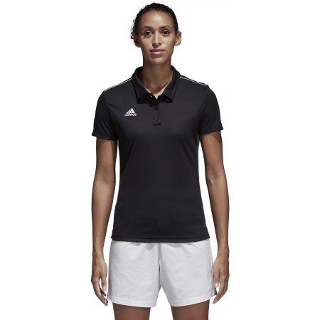 Women's sports polo shirt - adidas CORE18 POLO W - 4