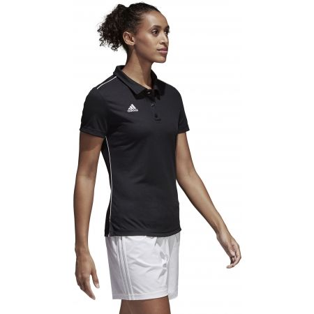 Women's sports polo shirt - adidas CORE18 POLO W - 5