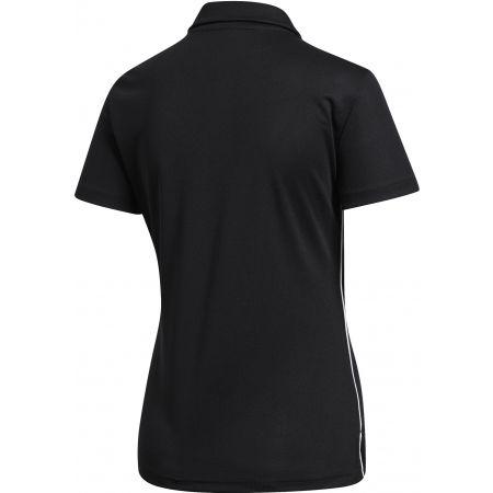 Women's sports polo shirt - adidas CORE18 POLO W - 2