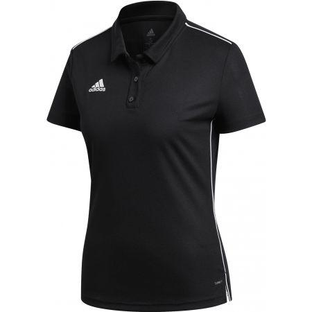 Women's sports polo shirt - adidas CORE18 POLO W - 1