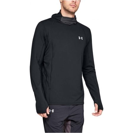 Men's running sweatshirt - Under Armour REACTOR RUN BALACLAVA - 4