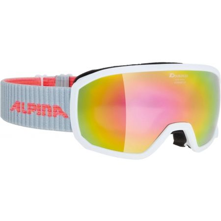 Alpina Sports SCARABEO JR MM - Kids' ski goggles