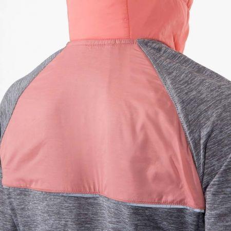Zateplená dámská běžecká mikina - Klimatex PERA - 4