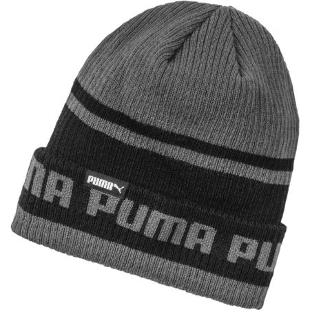 Плетена шапка - Puma ARCHIVE STRIPE BEANIE - 1