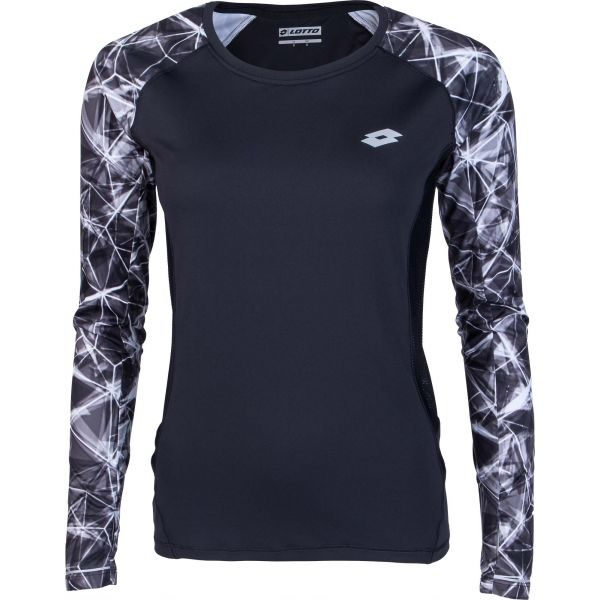 Lotto XRIDE III TEE LS W bílá L - Dámské sportovní triko