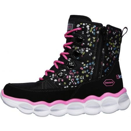 Dievčenské svietiace topánky - Skechers LUMI-LUXE-SPLASH DASH - 2