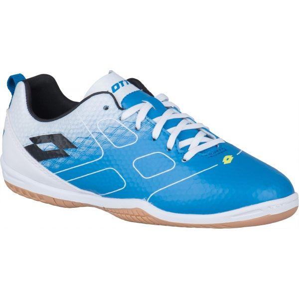 Lotto MAESTRO 700 ID JR modrá 31 - Chlapecká sálová obuv