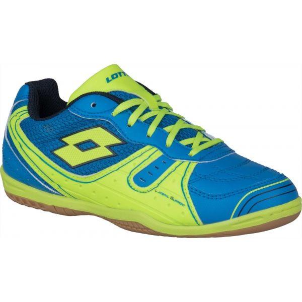 Lotto TACTO 500 III JR modrá 36 - Chlapecká sálová obuv