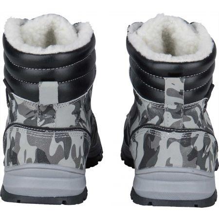 Dětská zimní obuv - Numero Uno CAMEL GREY KIDS - 7