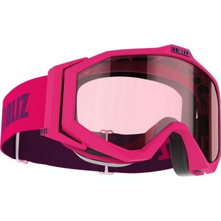 Ochelari ski coborâre copii - Bliz EDGE JR - DOUBLE