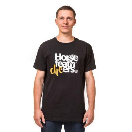 Pánské tričko - Horsefeathers CHEERS T-SHIRT - 1