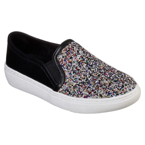 Skechers GOLDIE-TREASURE CHEST fekete 39 - Női bebújós cipő
