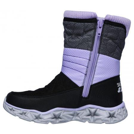 Dievčenská zimná obuv - Skechers GALAXY LIGHTS - 3