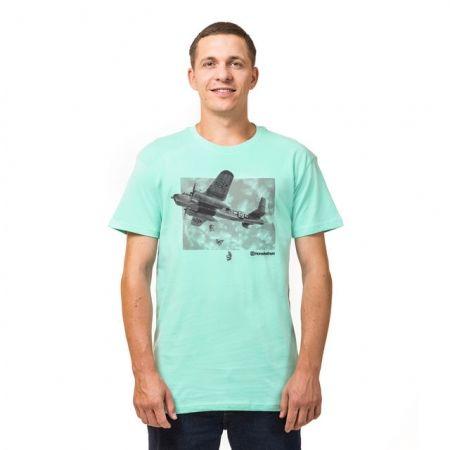 Мъжка тениска - Horsefeathers BOMBER  T-SHIRT - 1